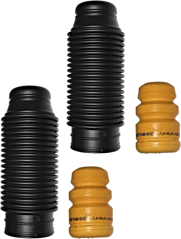 2x Staubschutz Zusatzd/ämpfer Hinterachse hinten
