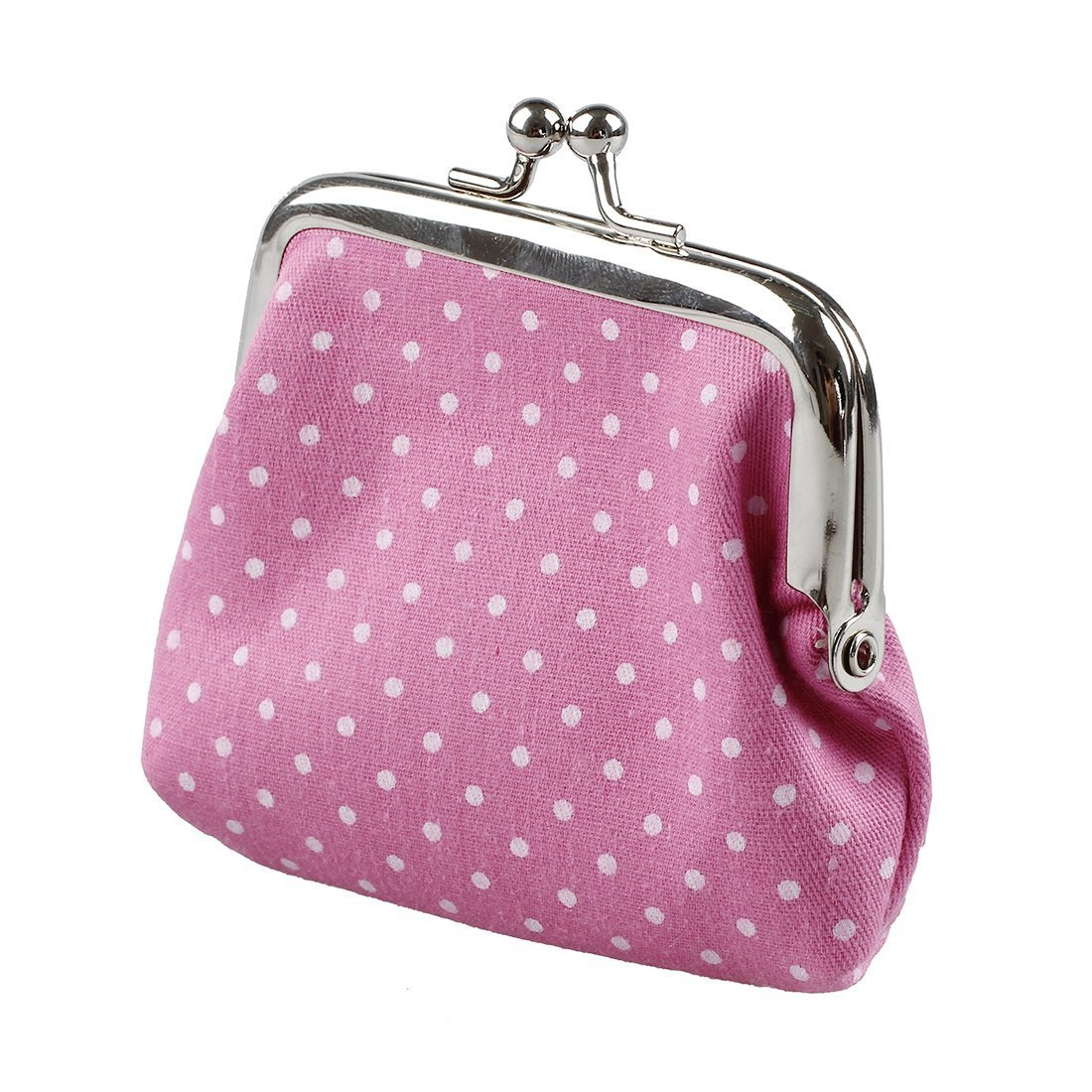 TOOGOO(R) Popular Cute girls Wallet Clutch Change Purse key/coins bag Mini Handbag Pouch Rose red 049337A5