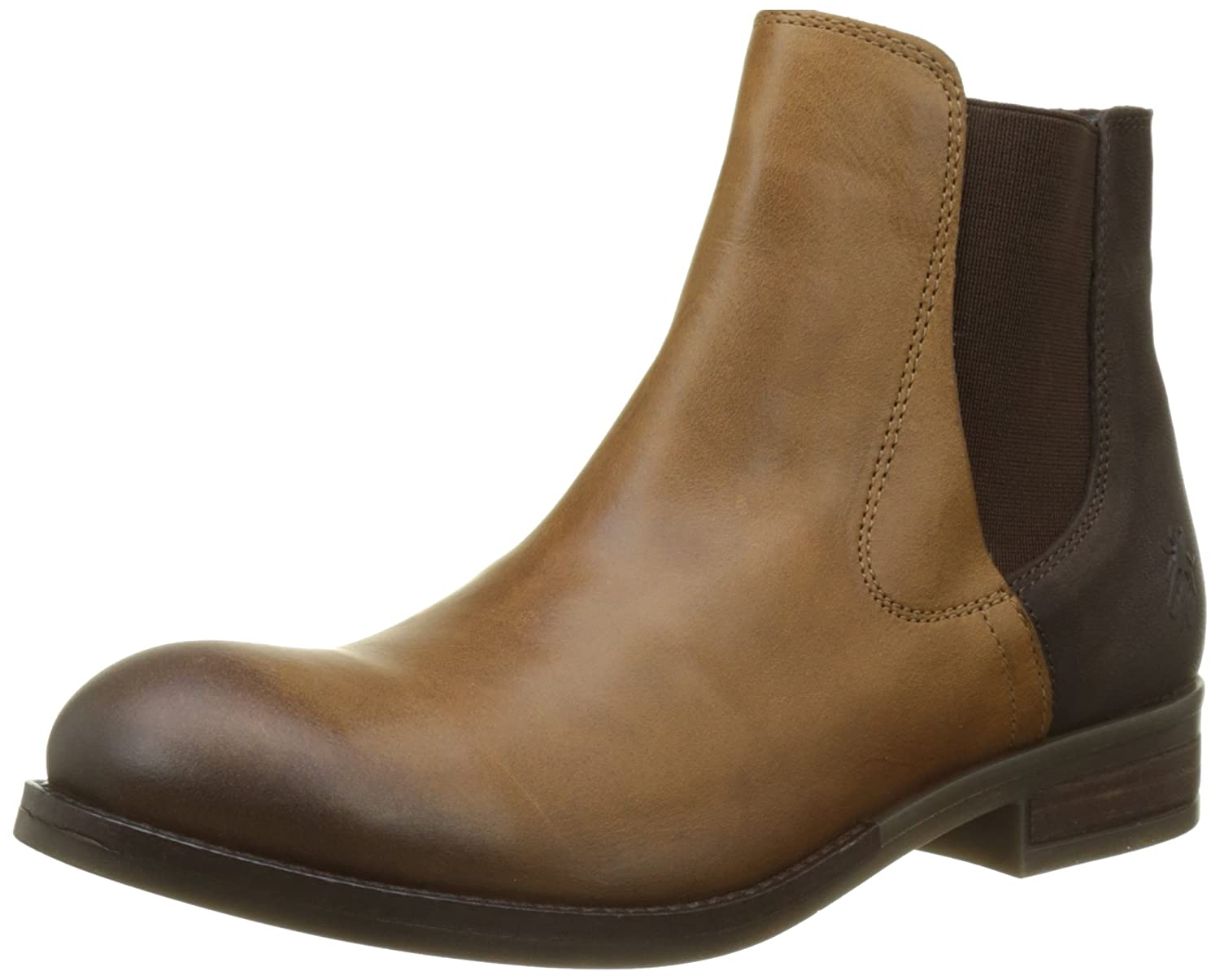 Fly London Alls076fly, Botas Chelsea para Mujer Marrón (Camel/Chocolate)