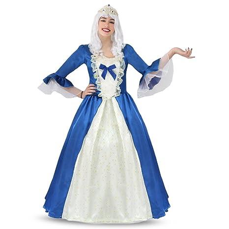 4e0bda31e291 Pegasus Vestito Costume Maschera di Carnevale per Adulti - Dama DAMINA -  Taglia 46