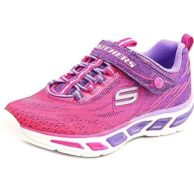Skechers (SKEES) Litebeams, baskets sportives fille: Amazon