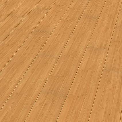 Elesgo Super Gloss Laminate Floor Carbonized Bamboo 2066 Sq F
