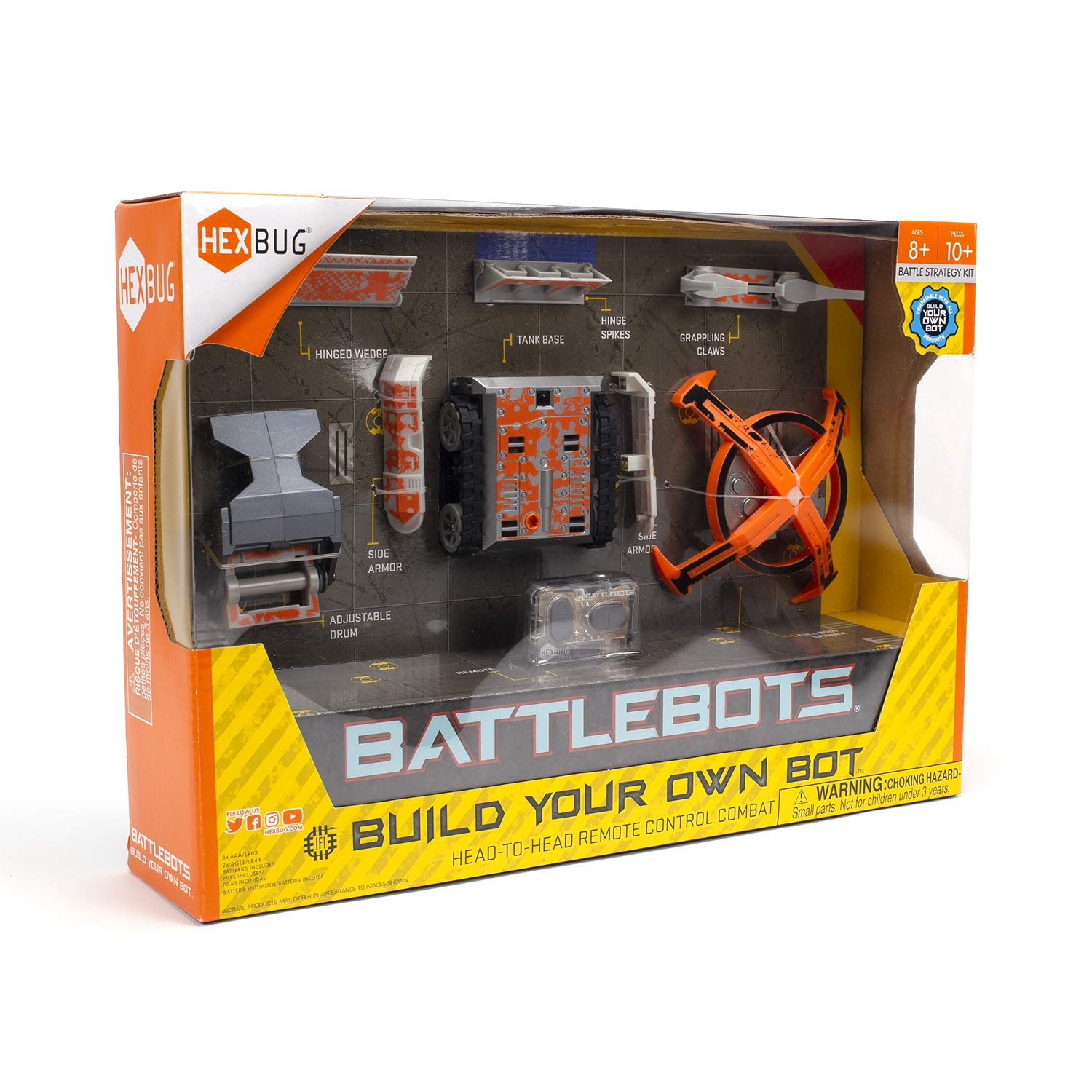 HEXBUG BattleBots Build Your Own Bot Tank Drive, Toys for Kids, Fun Battle Bot Hex Bugs by HEXBUG (Image #4)