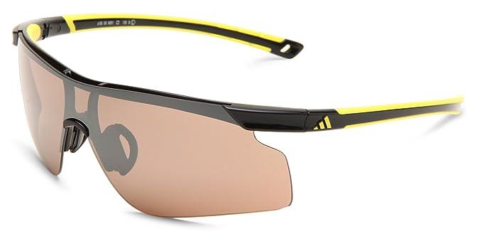 d0f13bd226be Amazon.com  adidas Adizero Tempo L A185 6051 Shield Sunglasses