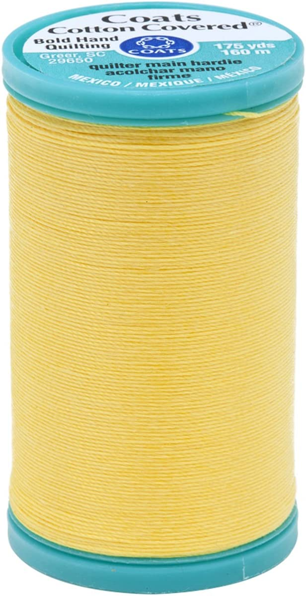 Sun Yellow Coats Bold Hand Quilting Thread 175-Yard