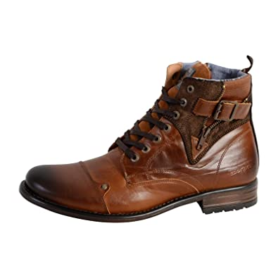 c80dc5d85fcd0d Redskins YERO Bottes & Bottines Classiques Hommes, (Noir+Gris Jz), 45 EU:  Amazon.fr: Chaussures et Sacs
