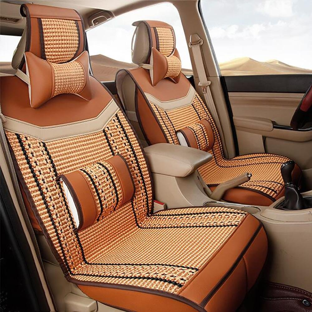 Auto Accessories The Summer Ice Car Seat Cushion Selling Auto Supplies Used in Four Seasons, orange