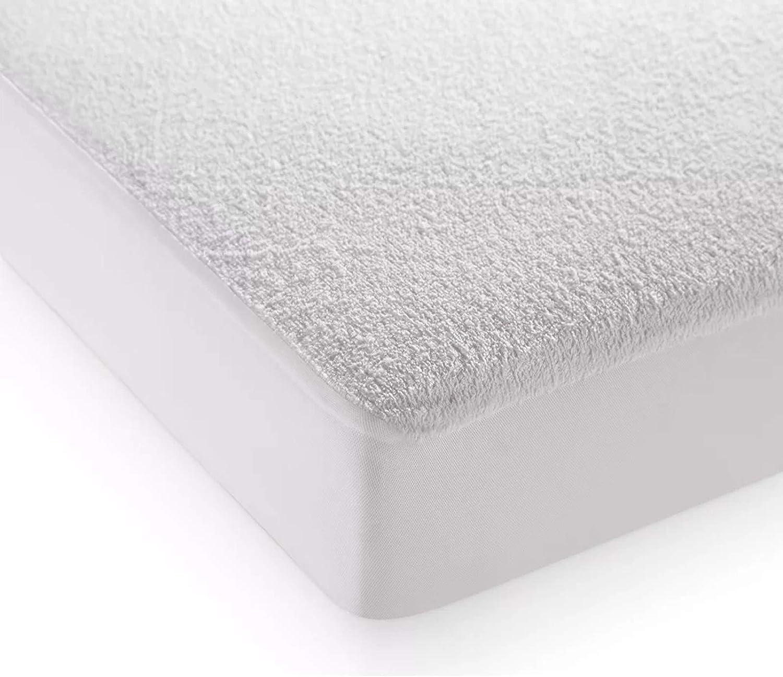 40 cm tief Polyester Wei/ß Baumwolle Highliving Matratze f/ür Doppelbett
