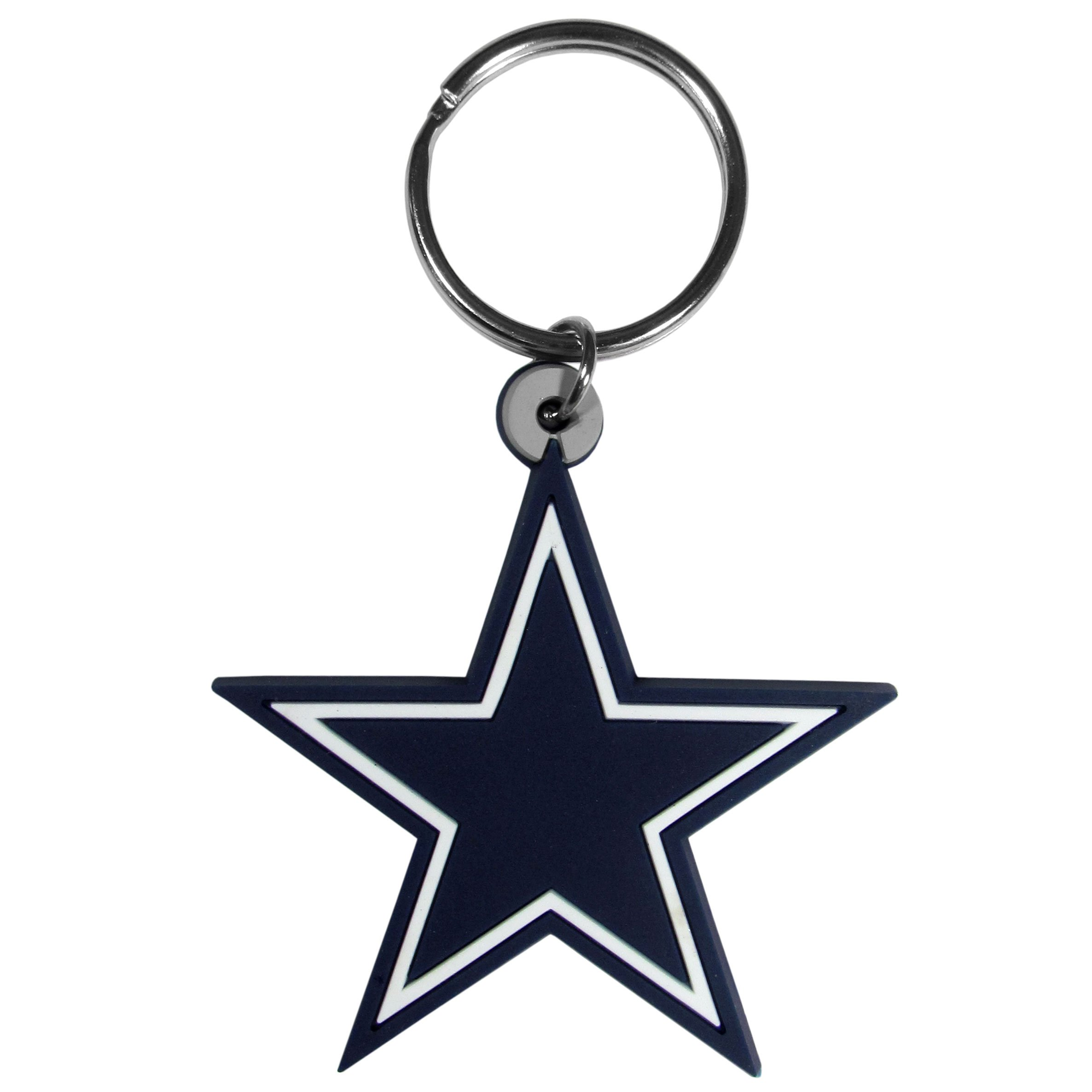 NFL Dallas Cowboys Flex Rubber Key Chain