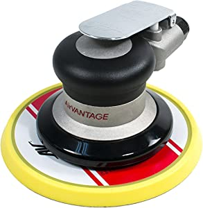 "AirVANTAGE 6"" Random Orbital Palm Sander with Pad (3/16"" Orbit with PSA Vinyl Pad)"