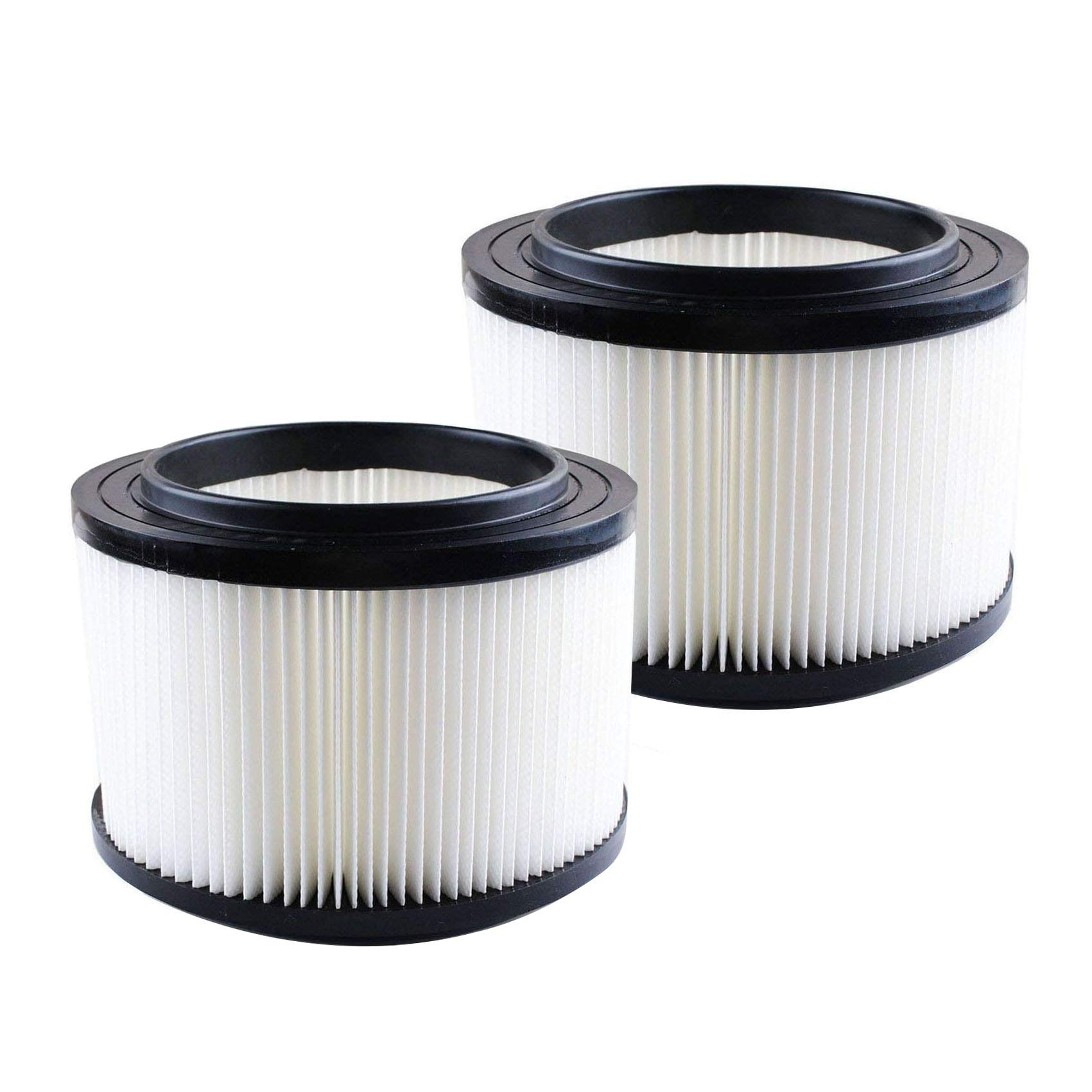 17810 Filter for Craftsman Shop Vac 9-17810,Wet Dry Vacuum Filter Fits for Craftsman 3 to 4-gallon (2 Pack) (white)