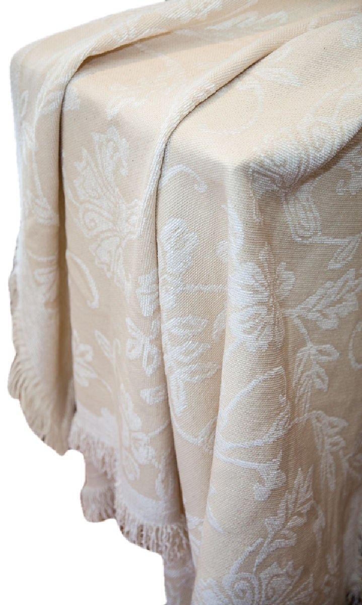 手動ホワイトチョコレートBlues軽量Tapestry Throw Blanket atwcho 50 x 60