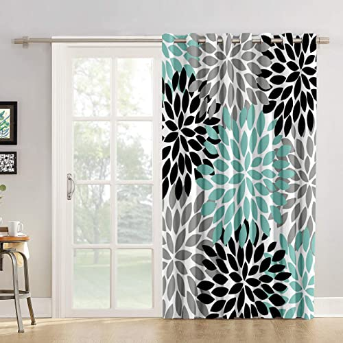 Kitchen Tier Curtains 90 inch Length Chic Window Drapes Panel