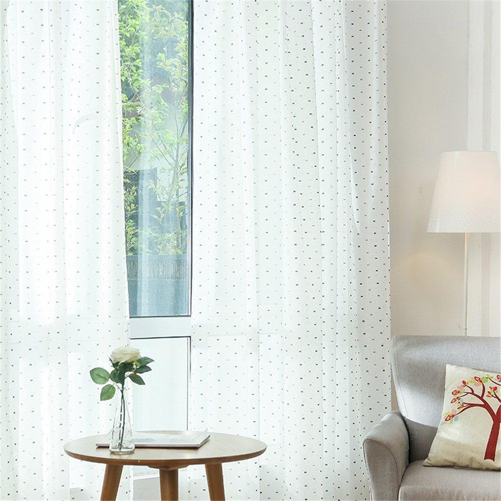 BB.er En Pointillé Gaze Chambre Denfants Chambre Simple Moderne Fini  Rideaux Salon Balcon Plancher Fenêtre ...