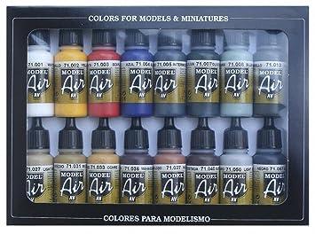 Vallejo Model Air Set De Couleurs De Peinture Acrylique Pour Air