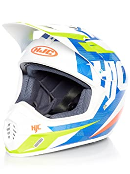 Casco Mx Hjc Cs-Mx Ii Dakota Azul-Blanco-Fluorescent (S ,
