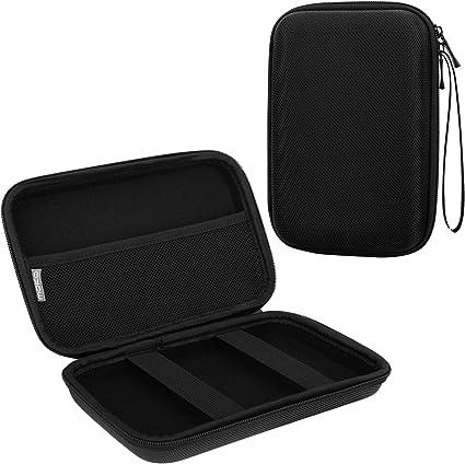 MoKo Estuche portátil con GPS de 7 Pulgadas, Estuche de Almacenamiento portátil con Bolsa Protectora para el navegador GPS Garmin/Tomtom/Magellan con Pantalla de 7