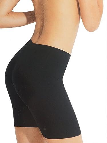 PA0837 Faja Piernas y Muslos Contenedora Modeladora de Mujer Reduce Cintura y Nalgas de Microfibra Elástica