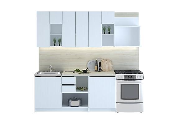 Küche cuba 240 cm küchenzeile einbauküche küchenblock