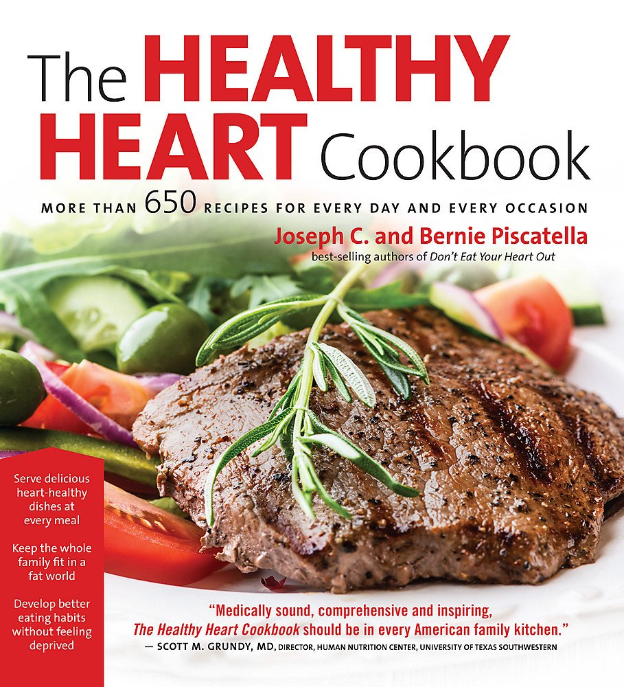 Download Healthy Heart Cookbook: Over 650 Recipes for Every Day and Every Occassion PDF