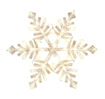Amazoncom Impact Innovations Christmas Lighted Window Decoration - Snowflake window stickers amazon