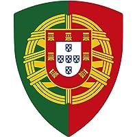 Pegatina Escudo Portugal de Pico con Emblema 40x60