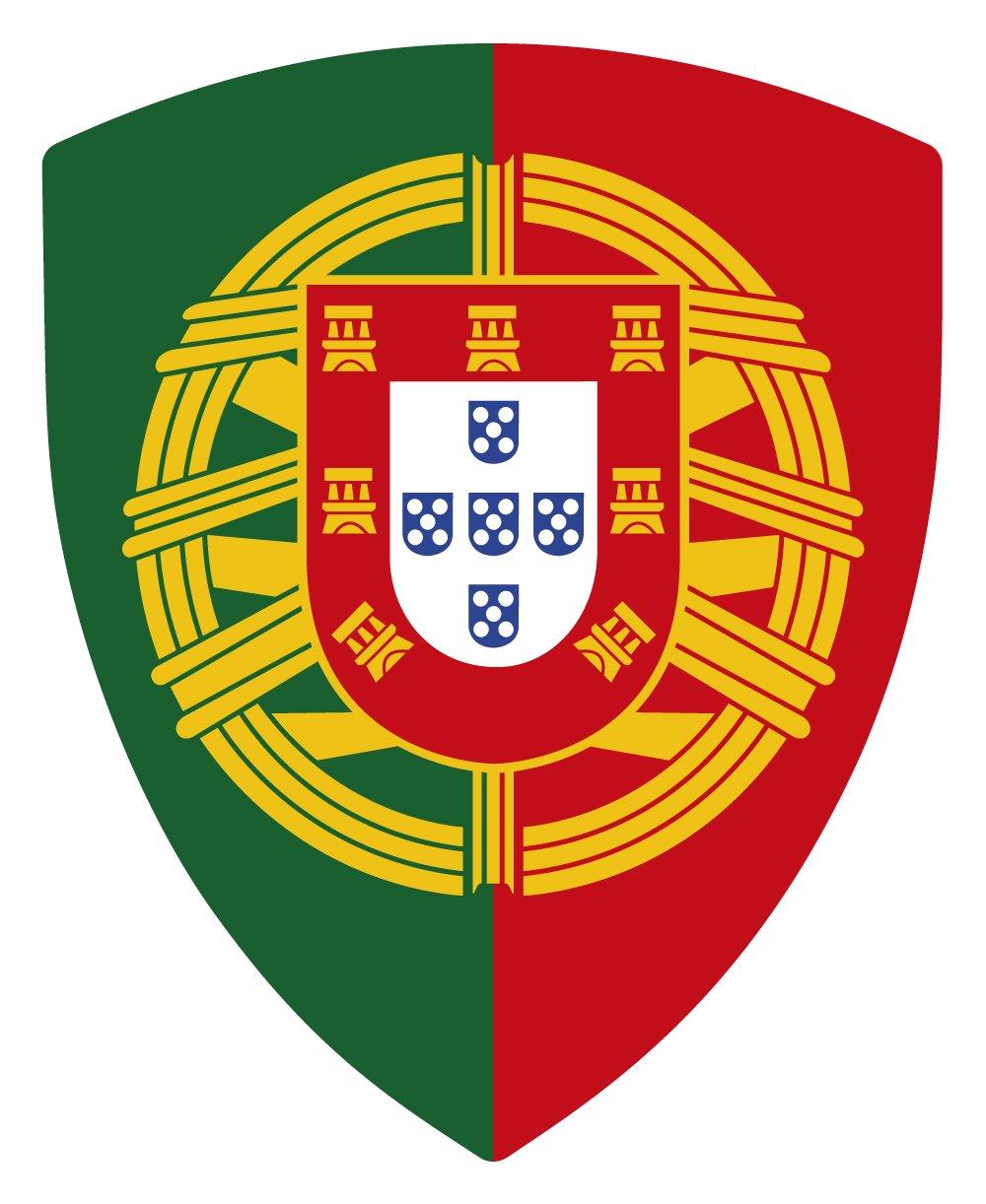 Adesivo Stemma Portogallo di Pico con emblema