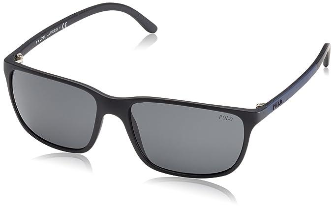 Ralph Lauren POLO 0PH4092 Gafas de sol, Matte Black, 56 para ...