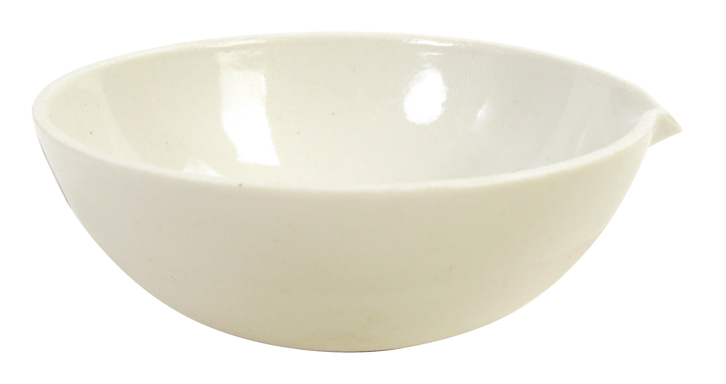American Educational Porcelain Evaporation Dish, 74mm Diameter X 30mm Height, 60ml Capacity