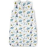 Lictin Baby Sleeping Bag - 1.0 Tog Baby Wearable Blanket Sleeping Sack Baby Swaddle Blanket Sack with Adjustable Length 90-11