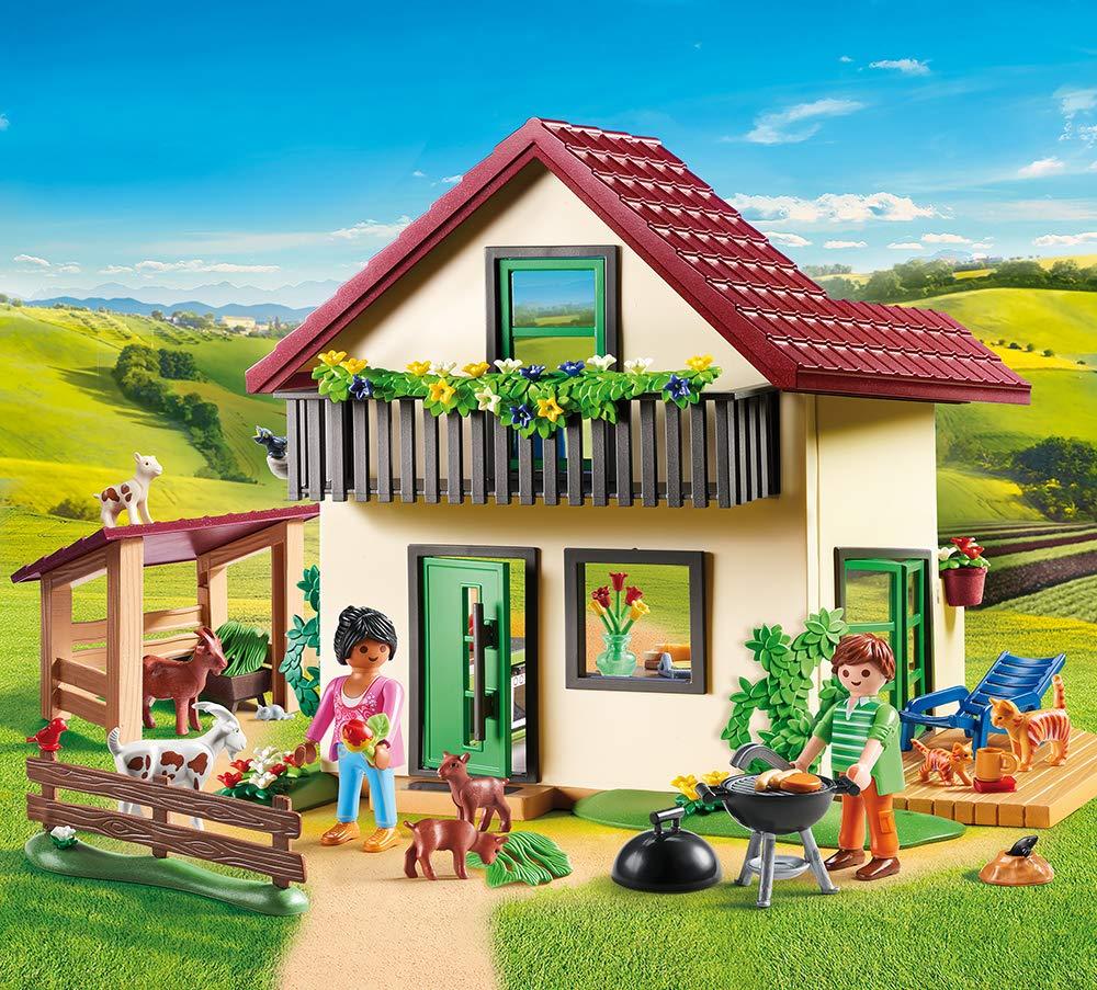 Playmobil 70133 Country Bauernhaus: Amazon.es: Juguetes y juegos