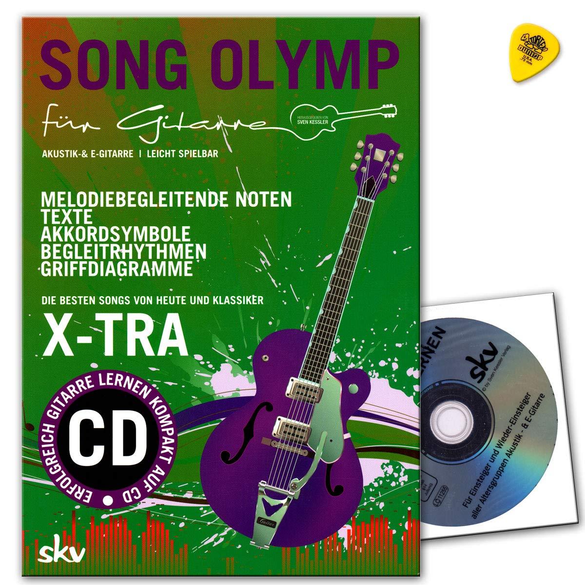 Song Olymp para guitarra con DVD, Dunlop Púa - Mejores Canciones ...