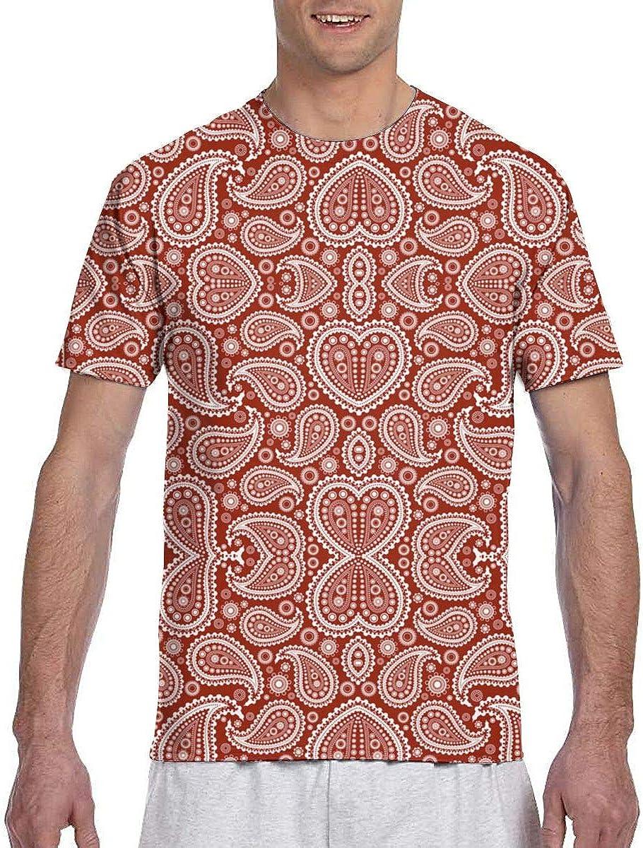 Camisa de Trabajo antibacteriana con Estampado de Paisley para Hombres, Tallas Grandes y Grandes: Amazon.es: Ropa y accesorios