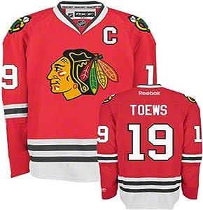 Reebok Jonathan Toews Chicago Blackhawks NHL Youth Premier Jersey - Red
