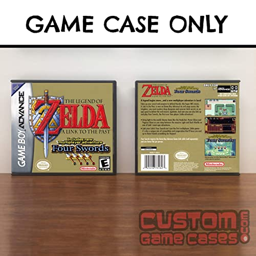 Gameboy Advance Legend of Zelda ,The: A Link to the Past & Four Swords - Case