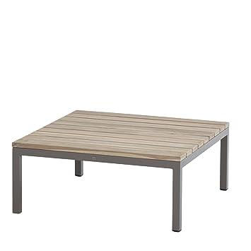 4seasons Outdoor Cava Teak Coffee Table Lounge Table Island 78x78x32