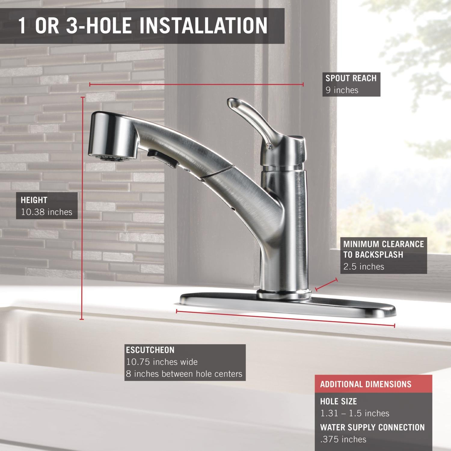 Delta Collins Single Handle Kitchen Pull Out Faucet With Magnetic Parts Diagram For Gourmet 150 450 Docking Spray Head Arctic Stainless 4140 Ar Dst