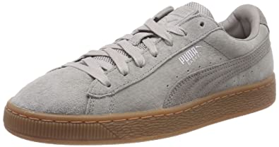 c8a4664e44fa Puma Unisex Adults  Basket Classic Weatherproof Low-Top Sneakers ...