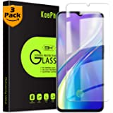 [3-Pack] KOSPH for Oppo (Reno Ace/Realme X2 Pro) Tempered Glass Screen Protector, 9H Anti-Scratch, 2.5D Arc Edge, Oleophobic Coated, Sensitive Touch, High Clarity (Flat Area Coverage, Clear)