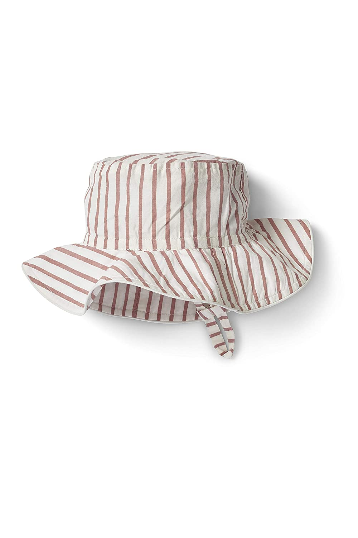 Pehr Stripes Away Bucket Hat Pink 6-12 Months Multicolor
