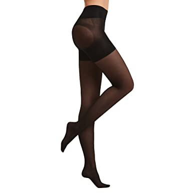 9002b1f9e6393 Sankom Patent Unique Tights with Shaper at Amazon Women s Clothing ...