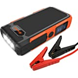 Jackery Spark, Car Jump Starter 18000 mAh Portable Bank 800A Peak Current Battery Booster with Built-In LED Flash Light for Automotive Truck Motorcycle Boat Snowmobile