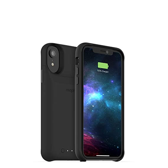 online store e4287 c065e mophie Juice Pack Access - Ultra-Slim Wireless Battery Case - Made for  Apple iPhone XR (2,000mAh) - Black