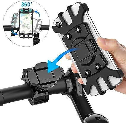 Soporte Movil Bicicleta Soporte Telefono moto Universal Soporte ...