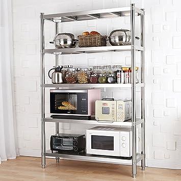Aufbewahrung Küchen-Speisekammer-Mikrowellen-Stand-Breites Freies ...