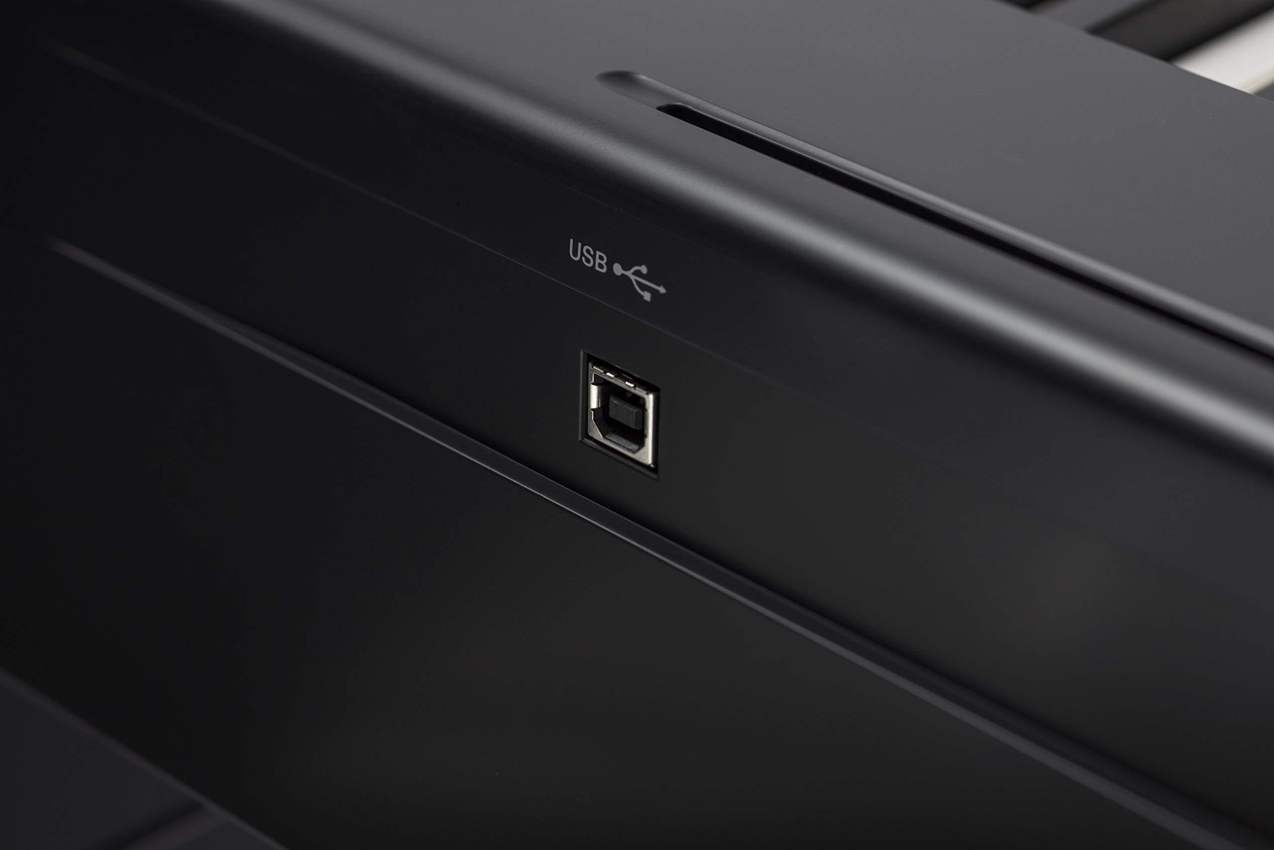 Casio Privia PX-160BK 88-Key Full Size Digital Piano with Power Supply, Black (Renewed) by Casio (Image #5)