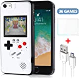 Bangting Handheld Game Console Phone case with 2 Game Screen Protector - Retro 3D Phone Protective case with 36 Classic…