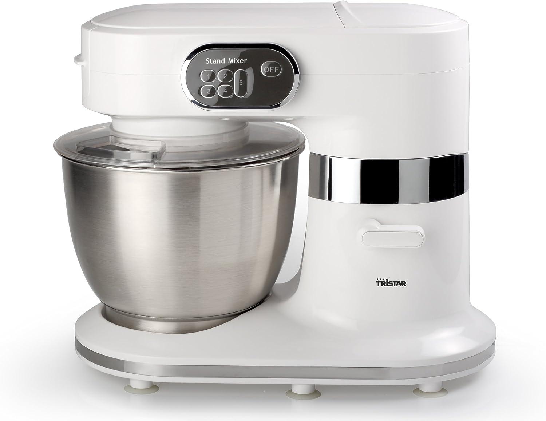 Tristar MX-4162 - Robot de cocina con bol de acero inoxidable de 5 litros, 1000 W, color blanco: Amazon.es: Hogar