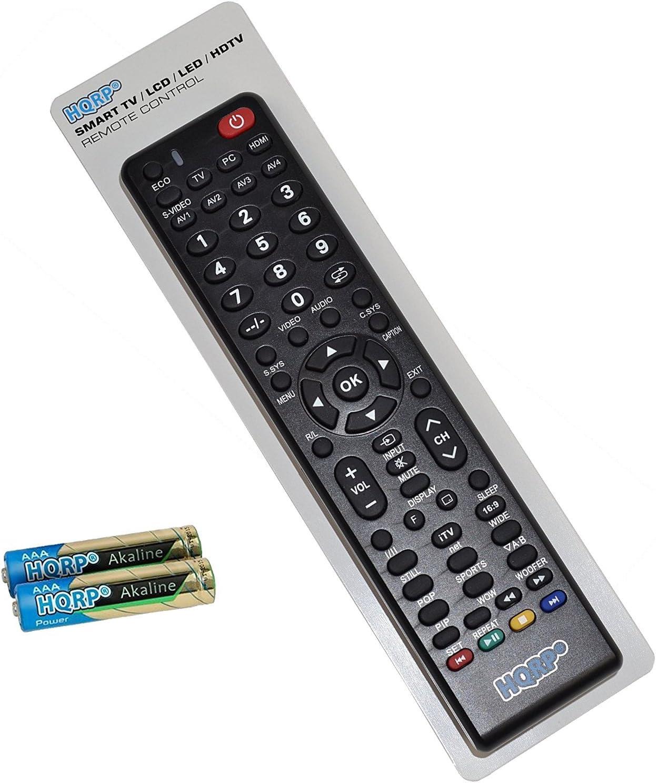 HQRP Mando a distancia universal para televisores de Sanyo DP46840 ...