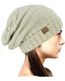 ee25080da3a NYFASHION101 Oversized Baggy Slouchy Thick Winter Beanie Hat